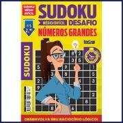 Sudoku Desafio Ed. 58 - Médio/Difícil - Com Números Grandes - Só Jogos 9x9