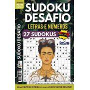 Sudoku Desafio Ed. 68 - Muito Difícil - Só Super Desafio - Com Letras e Números - Frida