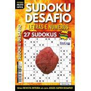 Sudoku Desafio Ed. 69 - Muito Difícil - Só Super Desafio - Com Letras e Números - Elemento Fogo