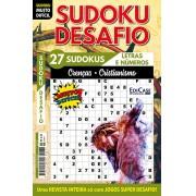Sudoku Desafio Ed. 75 - Muito Difícil - Só Super Desafio - Com Letras e Números - Crenças - Cristianismo