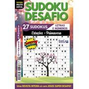 Sudoku Desafio Ed. 77 - Muito Difícil - Só Super Desafio - Com Letras e Números - Estações - Primavera