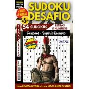 Sudoku Desafio Ed. 78 - Muito Difícil - Só Super Desafio - Com Letras e Números - Períodos - Império Romano