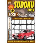 Sudoku Hiper Ed. 62 - Médio/Difícil - Só Jogos 9x9 - Período - Carros Antigos - Shelby (1967)