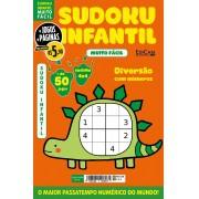 Sudoku Infantil Ed. 01 - Muito Fácil - Jogos 4x4 - 1 Jogo Por Página - Tema: Dinossauro