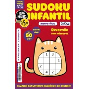 Sudoku Infantil Ed. 02 - Muito Fácil - Jogos 4x4 - 1 Jogo Por Página