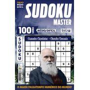 Sudoku Master Ed. 21 - Médio/Difícil - Só jogos 9x9 - Grandes Cientistas - Charles Darwin