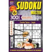 Sudoku Master Ed. 31 - Médio/Difícil - Só jogos 9x9 - Período - Comidas Típicas - Japão