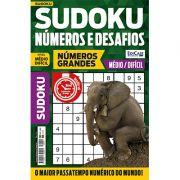 Sudoku Números e Desafios Ed. 111 - Médio/Difícil - Só Jogos 9x9 - Números Grandes