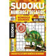 Sudoku Números e Desafios Ed. 113 - Médio/Difícil - Só Jogos 9x9 - Números Grandes