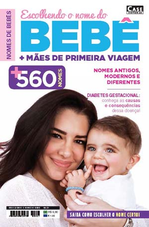 Escolhendo o Nome do Bebê - Edição 01  - Case Editorial