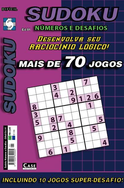 Sudoku Números e Desafios - Edição 91  - Case Editorial