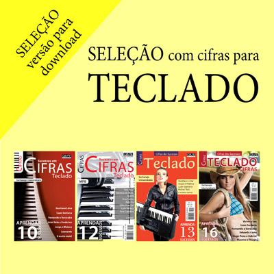 Seleção Cifras - Teclado - VERSÃO PARA DOWNLOAD  - Case Editorial