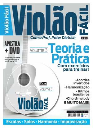 Violão Fácil Profº Peter Dietrich - ESCOLHA SUA EDIÇÃO  - EdiCase Publicações