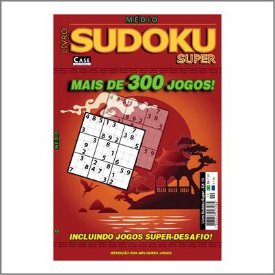 Livro Sudoku Super - Edição 14 - Médio  - Case Editorial