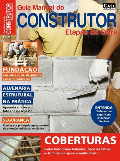 Guia Manual do Construtor Etapas da Obra - ESCOLHA SUA EDIÇÃO  - Case Editorial