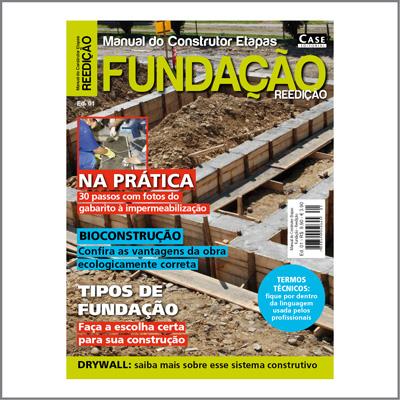 Manual do Construtor Etapas - Edição 01 - REEDIÇÃO  - Case Editorial