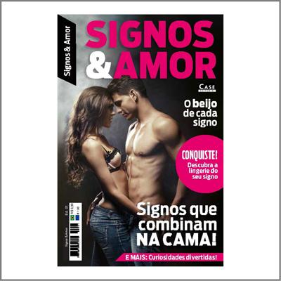 Signos & Amor - Edição 01  - Case Editorial