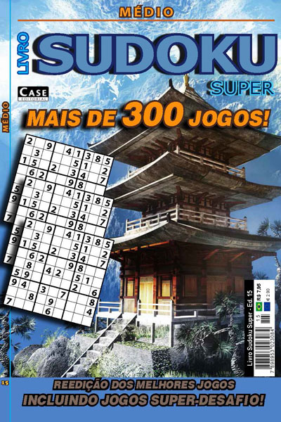 Livro Sudoku Super  - Case Editorial