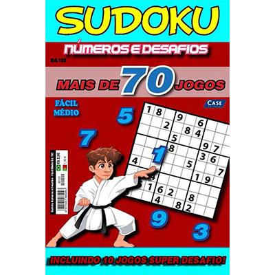 Sudoku Números e Desafios  - Case Editorial