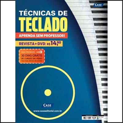Técnicas de Teclado - Edição 01  - Case Editorial