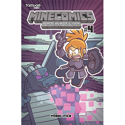 Minecomics: A Ameaça de Zork  - Case Editorial