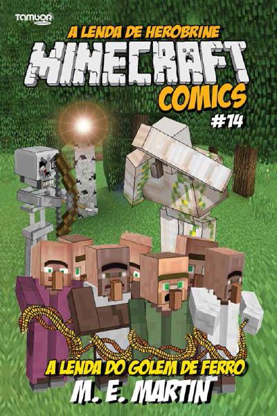 Minecraft Comics: A Lenda de Herobrine - Ed. 14  - EdiCase Publicações