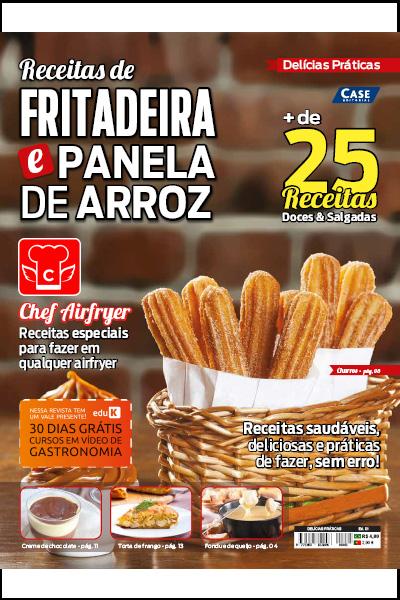 Delícias Práticas - Ed. 01 (Receitas de Fritadeira e Panela de Arroz)  - Case Editorial