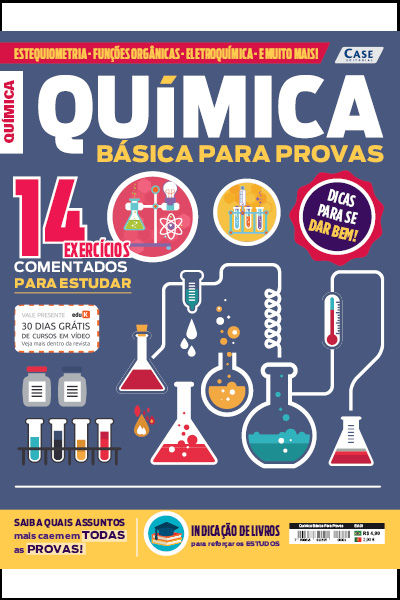 Química Básica Para Provas - Edição 01  - Case Editorial