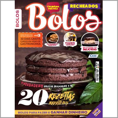 Culinária Prática - Ed. 01 (Bolos)  - Case Editorial