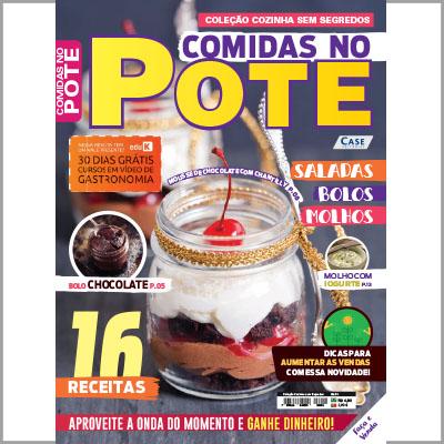 Coleção Cozinha Sem Segredos - Ed. 01 (Comidas no Pote)  - Case Editorial