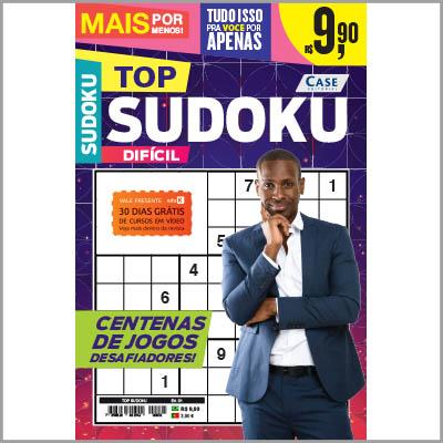 Top Sudoku - Ed. 01 (+5 revistas sortidas de sudoku)  - Case Editorial