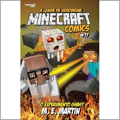 Minecraft Comics: A Lenda de Herobrine - Ed. 17  - EdiCase Publicações