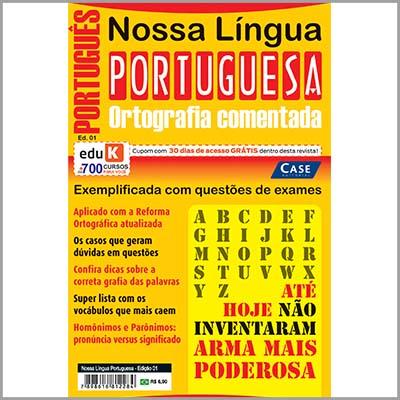 Nossa Língua Portuguesa   - Case Editorial