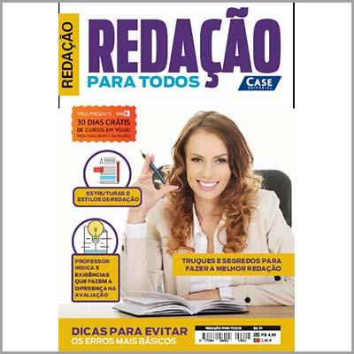 Redação Para Todos Ed. 01  - Case Editorial