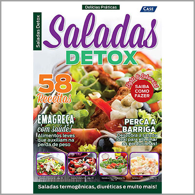 Delícias Práticas - Ed. 03 (Saladas Detox)  - Case Editorial