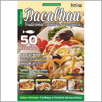 Culinária Popular - Edição 02 (Bacalhau)   - Case Editorial