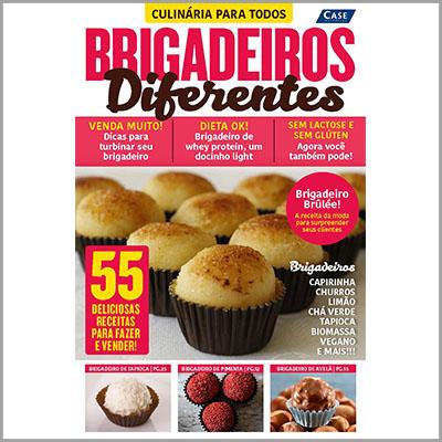 Culinária Para Todos - Ed.01 (Brigadeiros Diferentes)  - Case Editorial