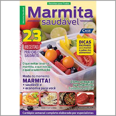 Receitas Para Todos Ed. 01 - Marmita Saudável  - Case Editorial