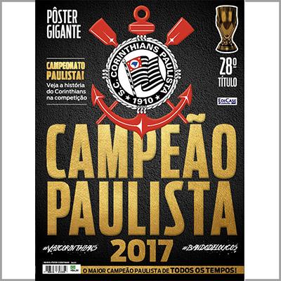 Revista Pôster Corinthians - Ed. 01  - Case Editorial