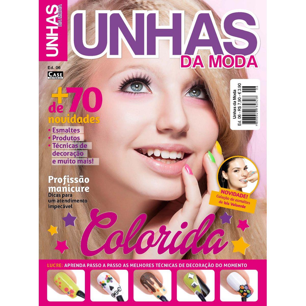 Unhas da Moda - Edição 06 - VERSÃO PARA DOWNLOAD  - Case Editorial