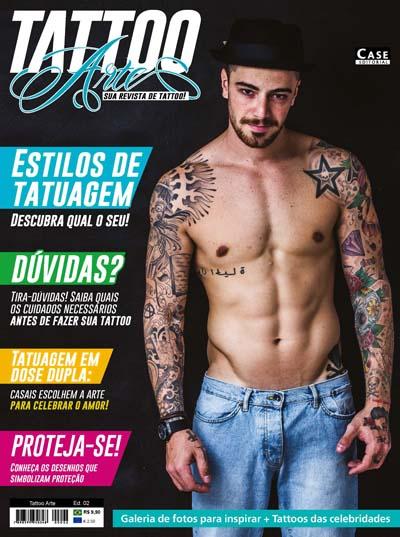 Tattoo Arte - Edição 02 - VERSÃO PARA DOWNLOAD  - Case Editorial