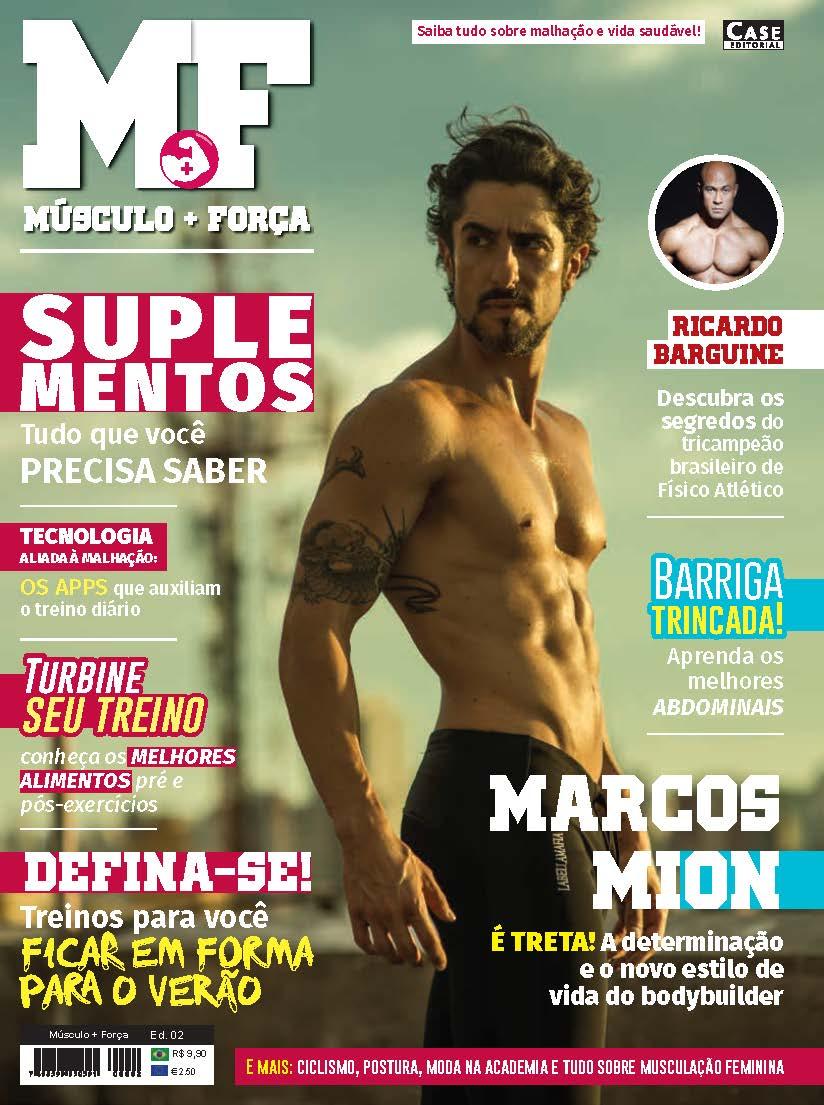Músculo + Força - Edição 02  - Case Editorial