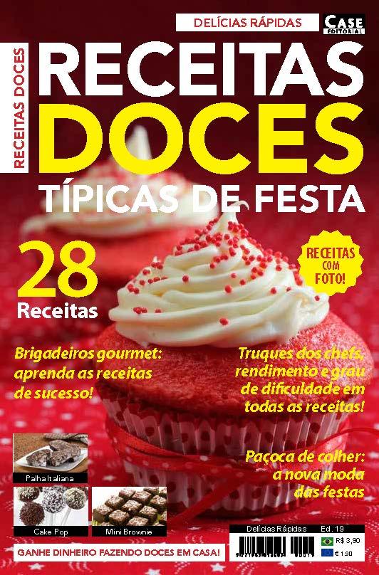 Delícias Rápidas - Edição 19  - Case Editorial