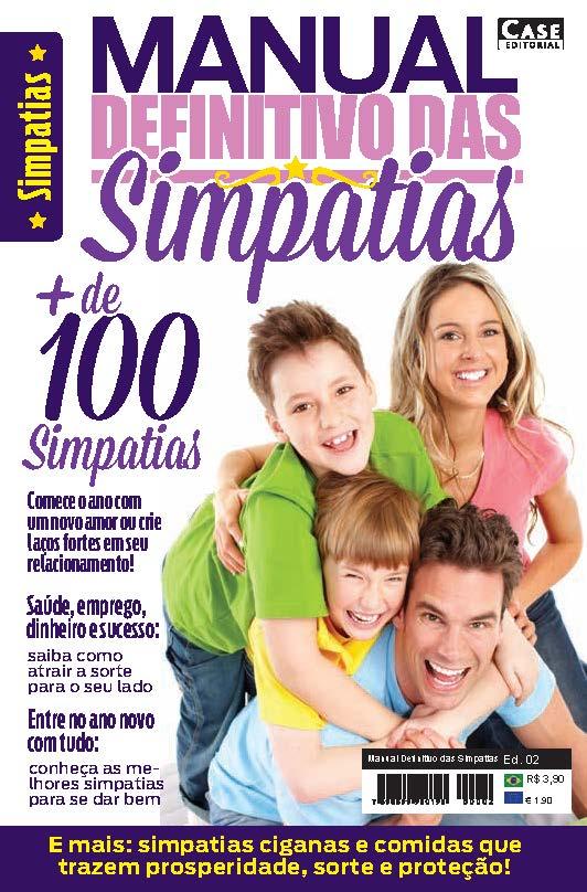 Manual Definitivo das Simpatias - Edição 02  - Case Editorial