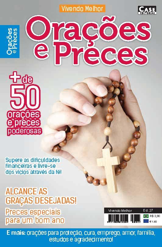 Vivendo Melhor Ed. 27 - Orações e Preces  - Case Editorial