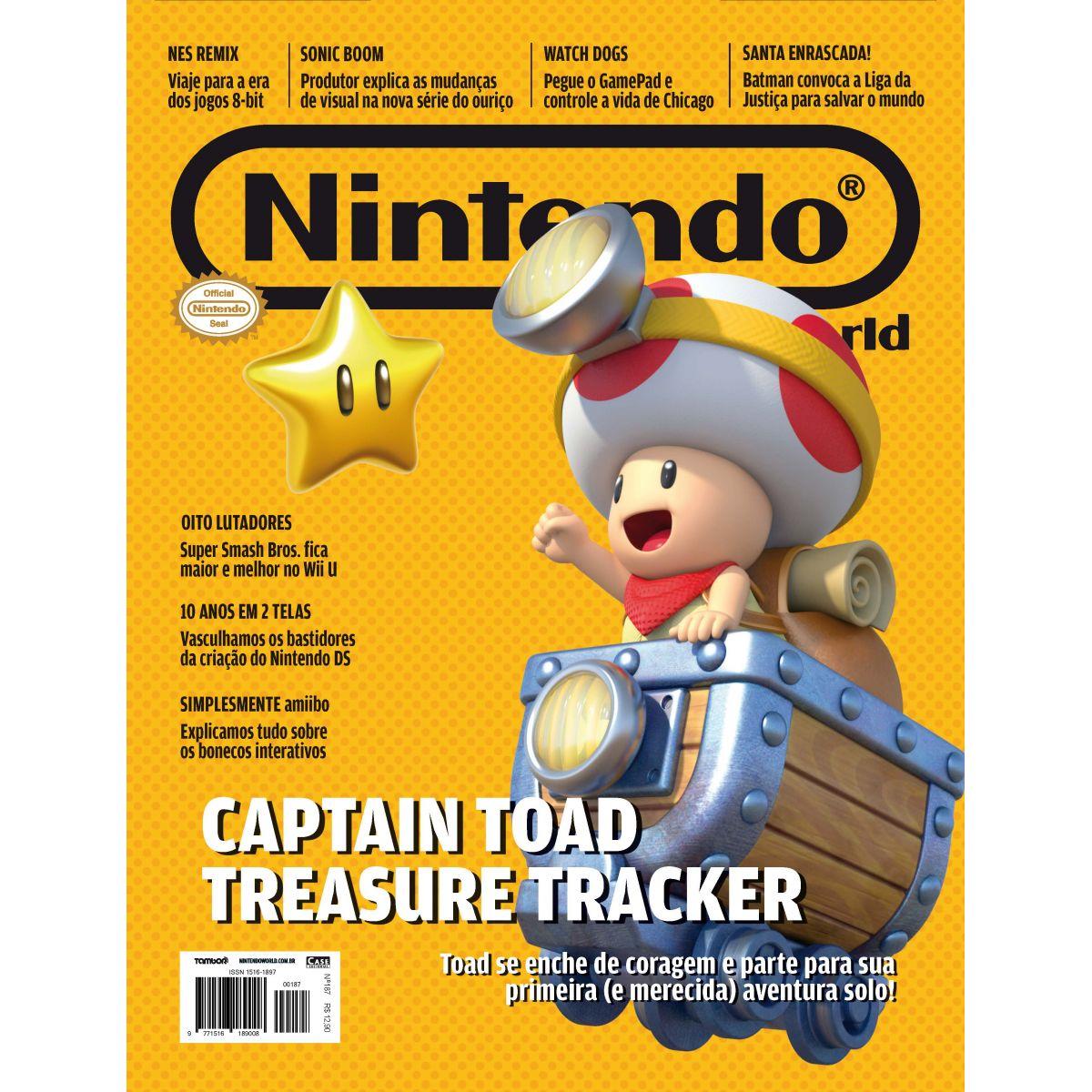 Nintendo World - Edição 187 - VERSÃO PARA DOWNLOAD  - Case Editorial