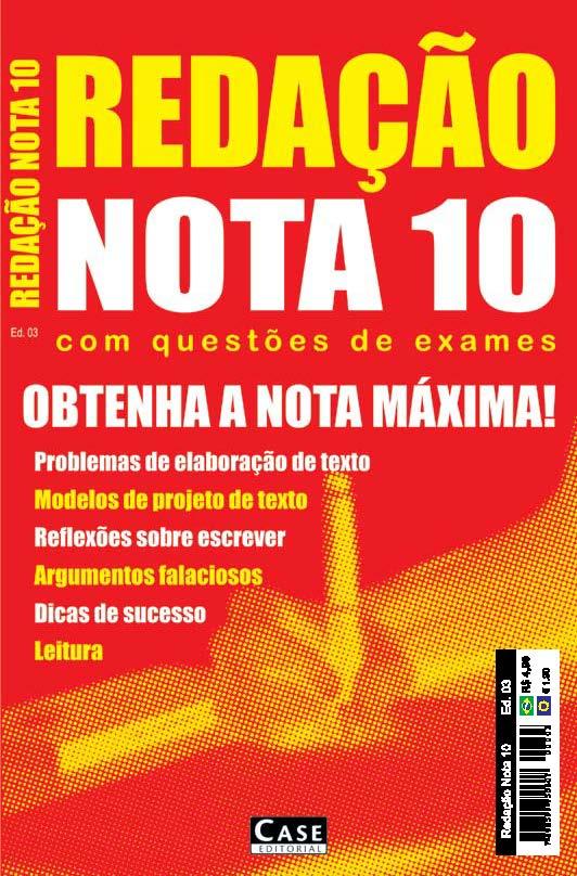 Redação Nota 10 - Edição 03                                            - Case Editorial