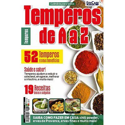 Culinária Para Todos Ed. 02 - Temperos de A a Z  - EdiCase Publicações