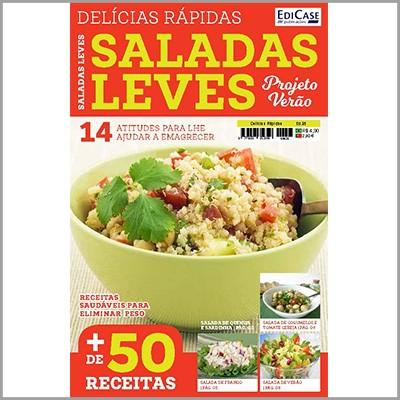 Delícias Rápidas - Ed. 25 (Saladas Leves - Projeto Verão)  - EdiCase Publicações