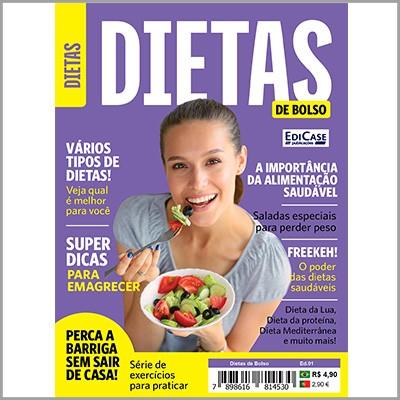 Dietas de Bolso Ed. 01 - Vários Tipos de Dietas  - EdiCase Publicações